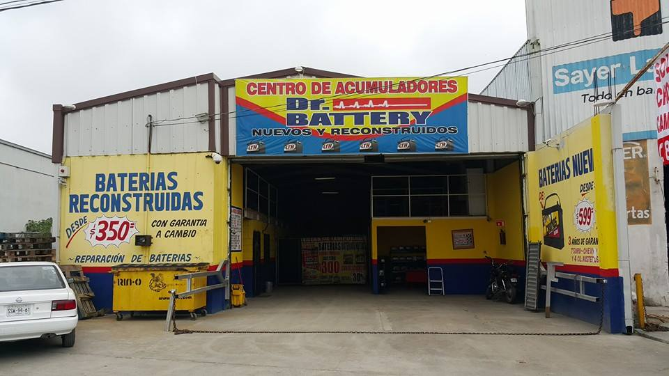 Dr battery center, sucursal Robles
